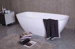 Ducha Bañera de lujo con una superficie sólida piedra compuesto para la decoración de cuarto de baño