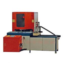 Doppelter Kopf CNC-Digital jeder möglicher Winkel-Ausschnitt sah Fenster-Tür-Maschine für Aluminium- und Plastikprofil