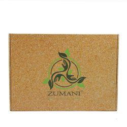 보편적인 마분지 종이 우송자 포장 출하 입는 백색 선물 인쇄 물결 모양 상자