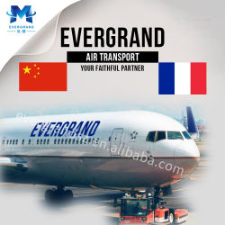 Desconto no serviço de transporte aéreo de mercadorias provenientes da China para a França/Le Havre/Paris/Marseille/Bordeaux/Lyon/Nantes/Lille/Montpellier/Nice