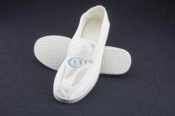 働くことのためのクリーンルームShoes/ESDの靴か帯電防止靴(4つの網目スクリーンの布の靴)