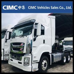 Neuer LKW Giga Vc61 4X2 6X4 350HP, 380HP, 420HP, 460HP Traktor-LKW China-Isuzu des Motor-6uz1 6wg1