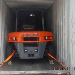 Heli Cpcd70 Gabelstapler verwendeter Dieselmotor 7 Tonnen