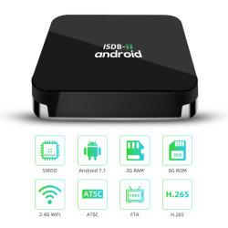 4K de haute qualité Amlogic S905D'Android TV Bio et ISDB-T STB