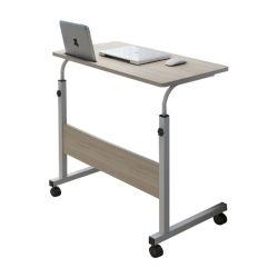 De Lijst van de Studie van het Bed van het huis, de Houten Laptop het Schrijven Opheffende Lijst van het Bureau met Wielen