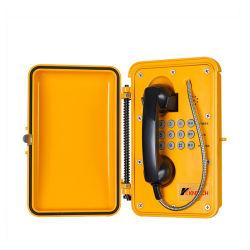 産業IP67は鉄道のための屋外の緊急時Sosの電話を防水する