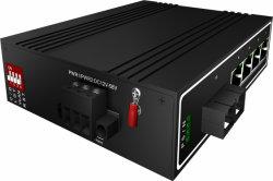 4 порта Gigabit Sc промышленного Ethernet Poe