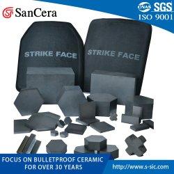 Nij III V Bulletproof Balísticos Placa armadura de cerâmica para fins militares