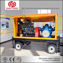 L'essence de l'essence diesel à usage intensif de puissance du moteur de pompe à eau de l'irrigation