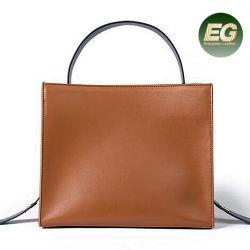 Llegada de nuevas bolsas de mano de cuero original señoras bolso de cuero de vaca el GGA5336