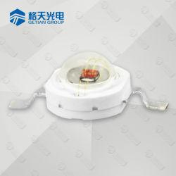 3W 620-630nm Rood LED met Star PCB voor Plantengroei