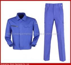 공장 산업용 작업 착용 제복 (W315)를 위한 주문 싼 작업복 작업복