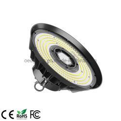 Alumínio IP65 5 Anos de garantia 150lm/W Multibeam 150W Highbay OVNI de iluminação
