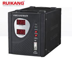 شاشة عرض قياس أحادي الطور بقدرة 3 كيلوفولت أمبير مثبت الفولطية التلقائي الكهربائي