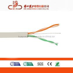 2 accoppiamenti di UTP Cat3 del cavo 0.5mm Bc/CCA del cavo telefonico dell'interno