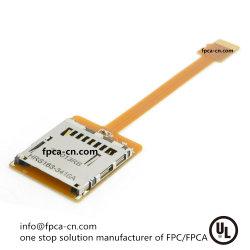 FPC/FPCA voor digitale apparatenSd/sim/ic- gegevenskabel; flex laminerende dienst van PCB