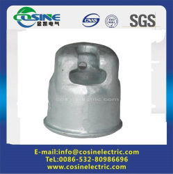 Cerámica/porcelana aislante de la suspensión del montaje de la tapa del receptáculo/500 kn