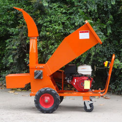 Beweglicher Treibstoff 13HP schielt 85mm abbrechendie kapazitäts-Garten Mulcher an