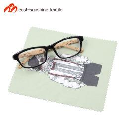 Personalizzazione OPP digitale stampato imballaggio microfibra alta qualità vetri pulizia Panno