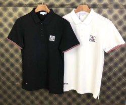 Estoque de folga do lote de vestuário de marcas famosas camisa Polo fornecendo