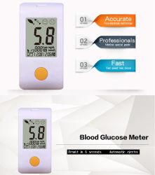Kit de análisis de la diabetes la glucosa en sangre Medidor de glucosa en sangre libre de código