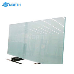 Vidros pintados de branco (vidro decorativo)