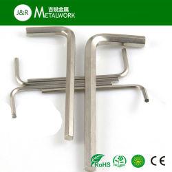 مفتاح ألن سداسي الشكل بطول 4 مم من الفولاذ القاسي مقاس 8 مم بحلة الشكل L