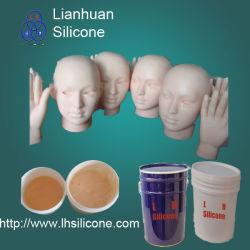 Gomma di silicone del pezzo fuso di vita per la fabbricazione umana della parte del corpo