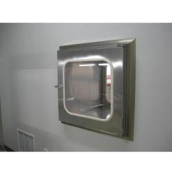 Edelstahl ISO/Ce überprüfte Passbox im sauberer Raum-Übertragungs-Fenster-Durchlauf-Übergangskasten