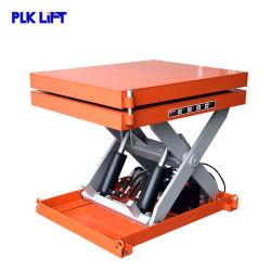 Certificado CE portátil Residencial Industrial de la mesa elevadora de tijera hidráulico giratorio