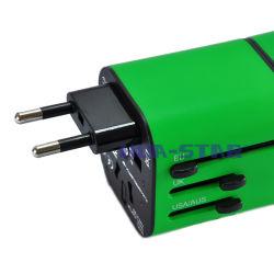 Дорожный адаптер переменного тока с маркировкой CE&RoHS (HS-T106)