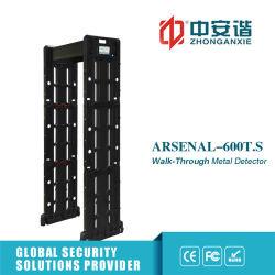 Application Téléphone portable de contrôle du détecteur de métal avec de longs temps de la porte d'alimentation