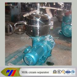 Gran capacidad de acero inoxidable Productos Lácteos Crema de Leche separadora centrífuga