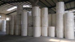 Alta qualidade de papel de celulose de madeira virgem Mãe, pai de Rolo para Rolo de papel higiênico