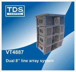 3-Way compacto de la matriz de la línea de accesorios (VT4887) para el sistema de altavoces de audio