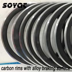 Soyat Carbon Wheel Rims mit Alloy Braking Surface Fahrrad Rims Good Design Hot Product Wholesale Price