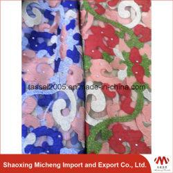 Multi Color africana Net encajes con piedra 3037