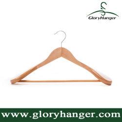 Laundry poco costoso Wooden Suit Hanger Coat Hanger per Display