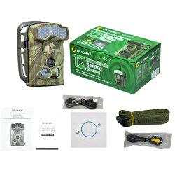 La caza de fauna silvestre Solar Trail seguridad doméstica de la cámara SMS inalámbrico remoto GSM GPRS MMS de vídeo digital resistente al agua de la cámara térmica de infrarrojos