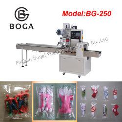 BG-250X Machine van de Verpakking van het Stuk speelgoed van het Type van Hoofdkussen van B/D de Automatische Kleine