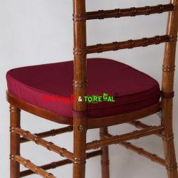 Toregal Burgunder Farbe Chiavari Hochzeits-Stuhl-weiches Kissen