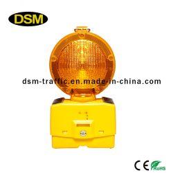 Lampe d'avertissement solaire pour le trafic (DSM-3T)
