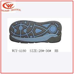 Populares pueril Rb suela deportiva para la fabricación de zapatos de escalada