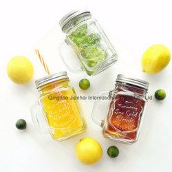 280ml Limpar vidro bebida Gelado Mason Caneca para beber