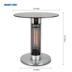 IP55 de alta calidad resistente al agua del calentador de infrarrojos en el exterior del tubo eléctrico