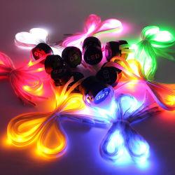 Lumière LED de haute qualité jusqu'Shoelace avec des prix concurrentiels