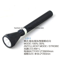 Maglite 2*26650 리튬 건전지 알루미늄 크리 사람 Xml-T6 10W 재충전용 토치
