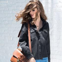 Veste de haute qualité denim Fashion Womens Denim Jeans enduire printemps