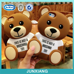 iPhone 6のための2015新しいCute Bear Silicone Cell Phone Case