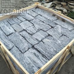 SMC-FS042 China Venta caliente natural el castillo de piedra de la pared de granito